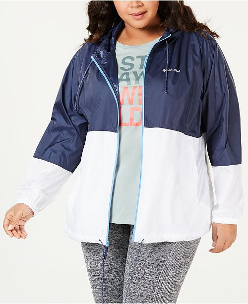 a50192b8aa1 Columbia Plus Size Flash Forward Windbreaker   Reviews - Jackets ...