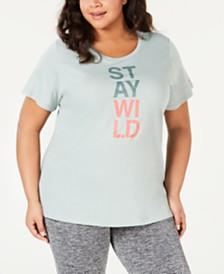 Columbia Plus Size Word Block T-Shirt