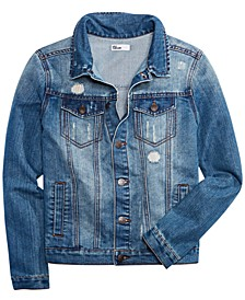 Big Boys Classic Denim Jacket, Created for Macy's