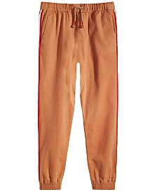 Epic Threads Big Boys Sand Tape Jogger Pants, Created for Macy's