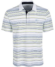Greg Norman Men's Franklin Multi-Stripe Polo