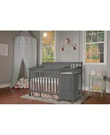 Dream On Me Jayden 4 in 1 Mini Crib