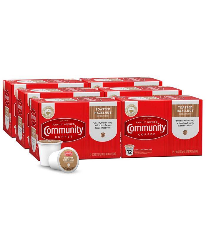 Community Coffee - CS-6: 12 CT SS CUPS TSTD HZLT