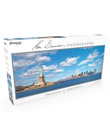 Pressman Toys - Images of America 504 Piece Panoramic Puzzle