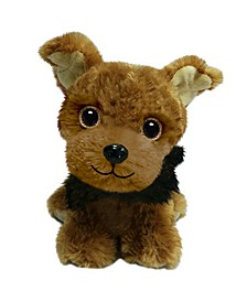 First and Main - Wuffles Yorkie Plush Dog, 7 Inches Sitting
