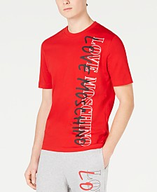 Love Moschino Men's Side Logo Graphic T-Shirt