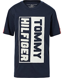 Tommy Hilfiger Toddler Boys Chenille-Graphic Cotton T-Shirt