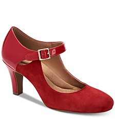 Velmah Memory Foam Mary Jane Pumps, Created for Macy's