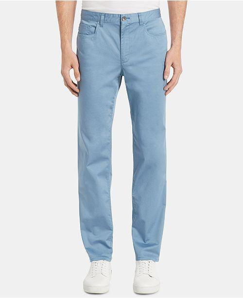 b1d3e26dfd66e9 Calvin Klein Men's Authentic Seasonal 5-Pocket Pants & Reviews ...