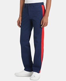 Calvin Klein Men's Slim-Fit Side Stripe Pants