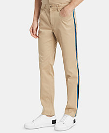 Calvin Klein Men's Slim-Fit Side-Stripe Pants