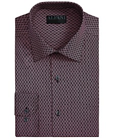 Alfani Men's Athletic-Fit  AlfaTech Honeycomb Shirt, Created for Macy's
