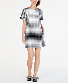 Weekend Max Mara Afelio Checkered Dress