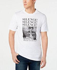 A X Armani Exchange Men's Triple Silence Graphic T-Shirt