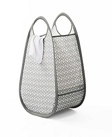 Pop-Up Fabric Laundry Hamper/Tote with EVERFRESH® Odor Control