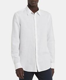 Calvin Klein Men's Chambray Logo Shirt