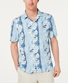 Tommy Bahama Men's Hibiscus Heights Hawaiian Shirt