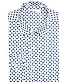 Bar III Men's Slim-Fit Performance Stretch Daisy Dot Dress Shirt, Created for Macy's
