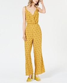 ASTR the Label Burke Printed Wide-Leg Pants