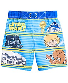Dreamwave Toddler Boys Star Wars Swim Trunks