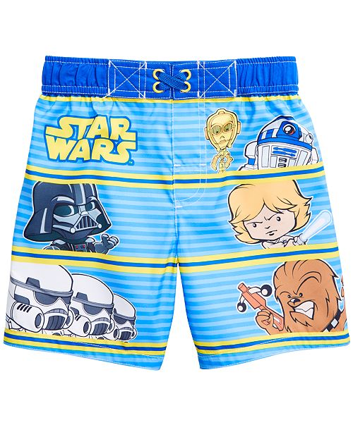 Dreamwave Toddler Boys Star Wars Swim Trunks