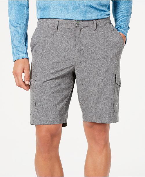 "Tommy Bahama Men's Cayman Isles Classic Fit IslandActive Performance Stretch 10"" Hybrid Cargo Shorts"