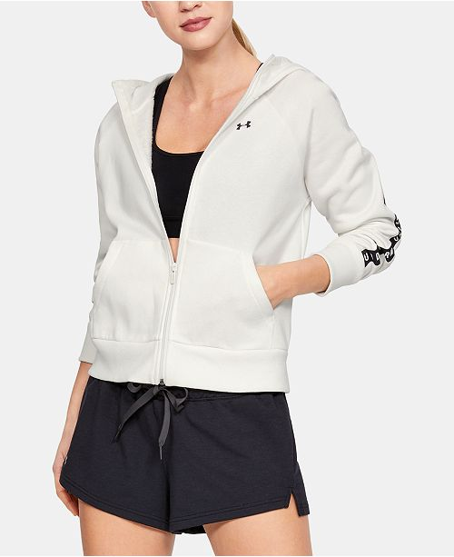 Under Armour Logo Fleece Zip Hoodie