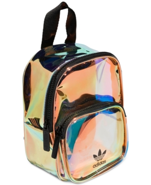 Adidas Originals Ori Mini Holographic Clear Backpack - Metallic In ... 655033b0bb458