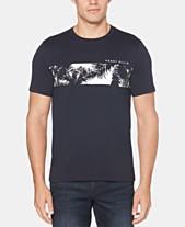 8132c8e26a Perry Ellis Men s Palm Tree Graphic T-Shirt