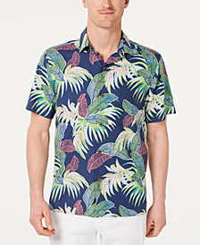 Tommy Bahama Men's Wallis Tropics Regular-Fit IslandZone Hawaiian Camp Shirt
