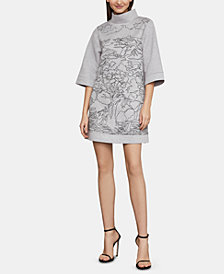 BCBGMAXAZRIA Printed Shift Dress