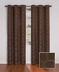 "Eclipse Meridian Thermaback Blackout 42"" x 63"" Curtain Panel"
