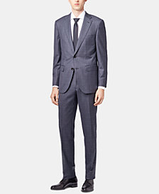 BOSS Men's Regular/Classic Fit Tailored Virgin Wool Suit