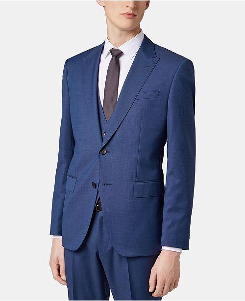 496bbaa68 ... Suit; Hugo Boss BOSS Men's Slim Fit Three-Piece Virgin Wool ...