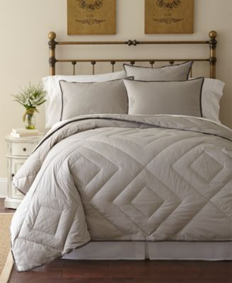 Vintage Wash King Down Alternative Comforter, 300 Thread Count Cotton