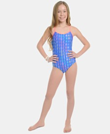 Tommy Hilfiger Big Girls Azaria Swimsuit