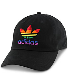 adidas Men's Relaxed Rainbow-Logo Hat