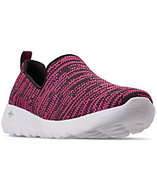 Skechers Women's GOwalk Joy - Nirvana Casual Walking Sneakers from Finish Line