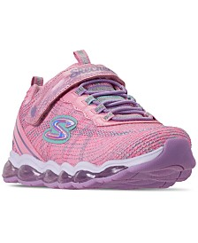 Skechers Little Girls' S Lights: Glimmer Lights Slip-On Training Sneakers from Finish Line