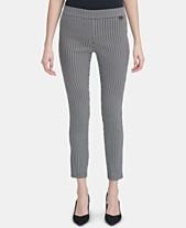Calvin Klein Womens Pants - Macy s e6d34843d