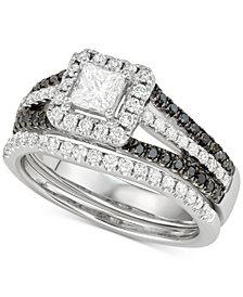 Diamond Princess Bridal Set (1-1/10 ct. t.w.) in 14k White Gold