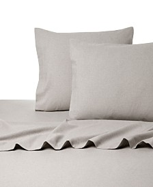 Heather Flannel Sheet Set California King