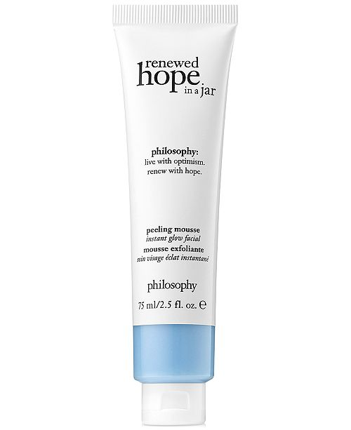 philosophy Renewed Hope Peeling Mousse Instant Glow Facial, 2.5-oz.