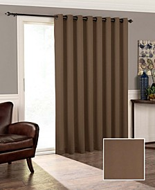"""Tricia Thermapanel Room-Darkening Door Panel, 100"""" x 84"""""""