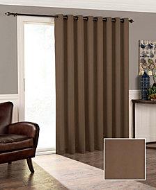 """Eclipse Tricia Thermapanel Room-Darkening Door Panel, 100"""" x 84"""""""