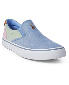 Polo Ralph Lauren Men's Thompson Slip-On Sneakers Created for Macy's