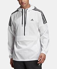 adidas Men's Sport ID Half-Zip Hooded Jacket