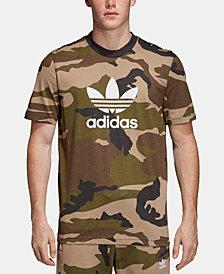 adidas Men's Camo-Print Logo T-Shirt