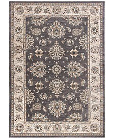 "Avalon Kashan 5608 Grey/Ivory 3'3"" x 5'3"" Area Rug"
