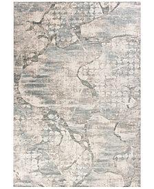 "KAS Crete Visions 6514 Ivory/Mist 2'2"" x 6'11"" Runner Area Rug"